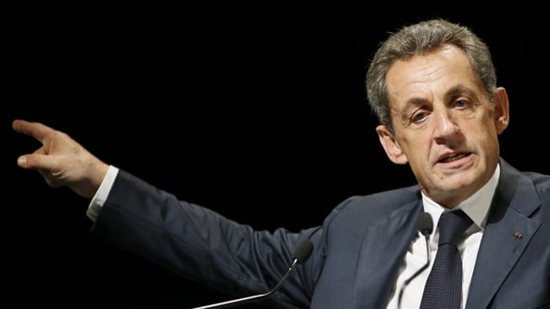 Sarkozy has accused the judiciary of trying to block his comeback bid [Robert Pratta/Reuters]