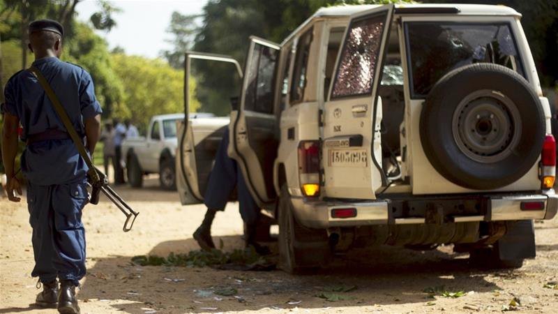 Is there a threat of genocide in Burundi?