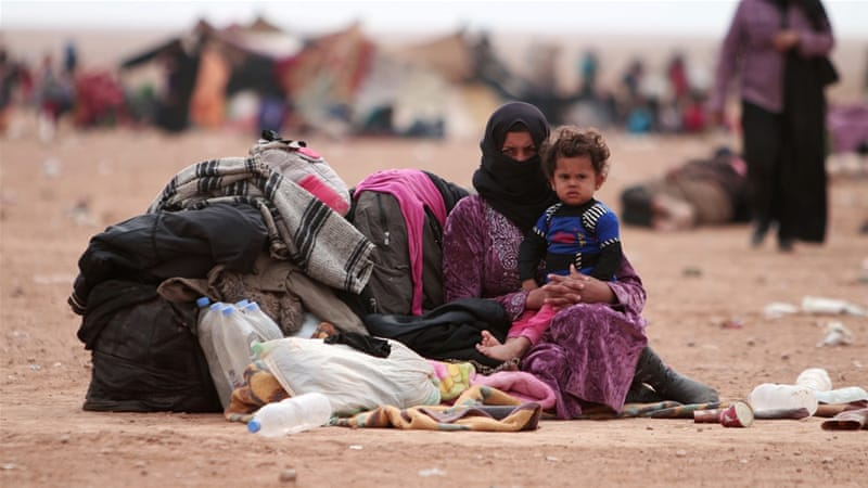 The UN had warned up to one million Iraqis could flee following the Mosul offensive [Reuters]