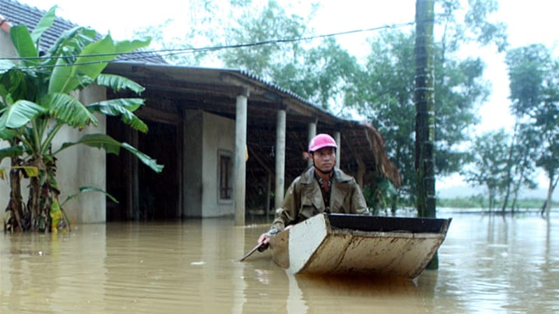 The torrential rain comes just two weeks after the region was last hit by flooding [VNA/Tuan Anh/Reuters]