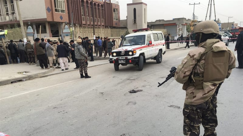 Doaens dead at Kabul mosque