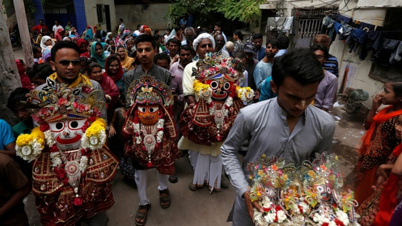 Forced religious conversions have been a contentious issue in Sindh [Reuters]