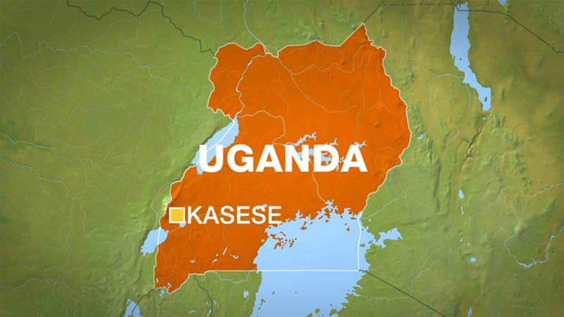 The Kasese region of Uganda borders the Democratic Republic of Congo