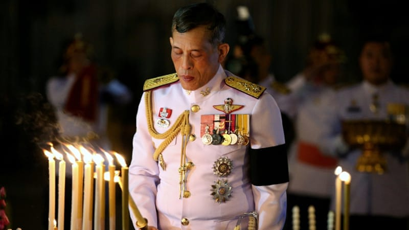 Thai Crown Prince Vajiralongkorn to take throne