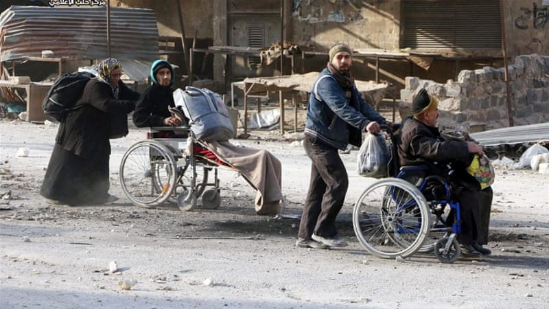 Aleppo up to 20,000 flee Aleppo