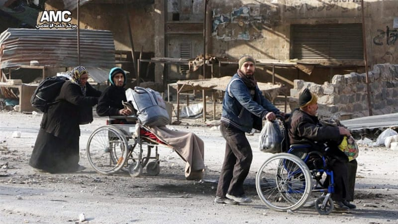 Aleppo at risk of becoming 'one giant graveyard'