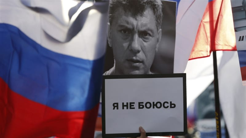 Russian opposition leader Boris Nemtsov was under surveillance before he was shot dead near the Kremlin in Moscow on February 27, 2015 [Reuters]