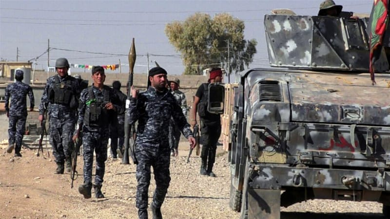 Iraqi security forces gained full control over Hammam Al-Alil after days of fierce clashes [EPA]