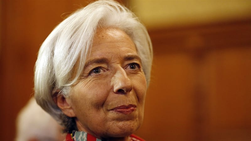 IMF Lagarde on trial in France