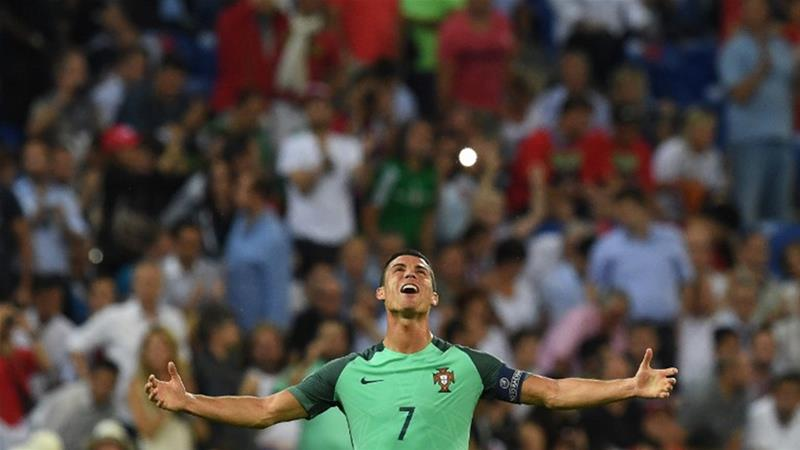 Ronaldo led Portugal to the Euro 2016 title, the country's maiden football trophy [AFP]