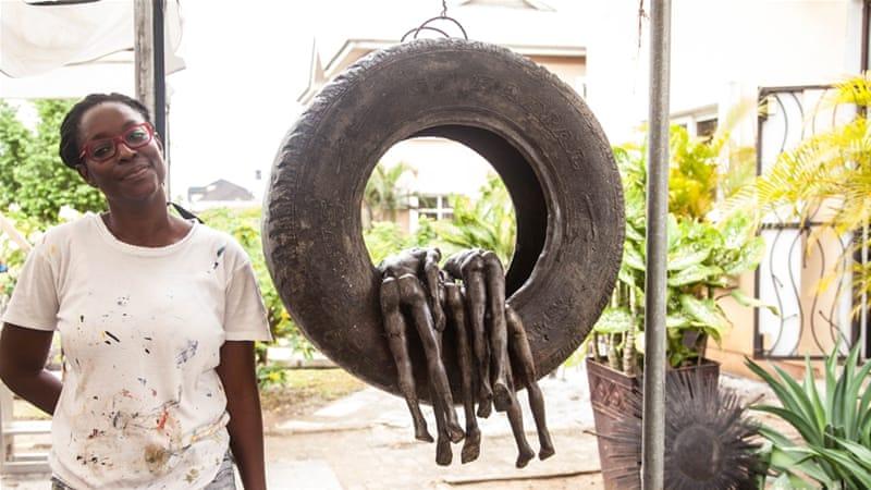 Peju Alatise: The Nigerian artist transcending barriers