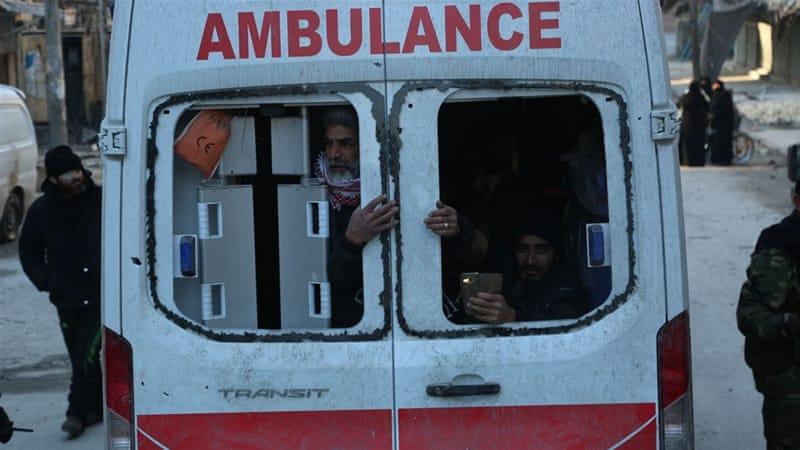 Aleppo evacuates civilians