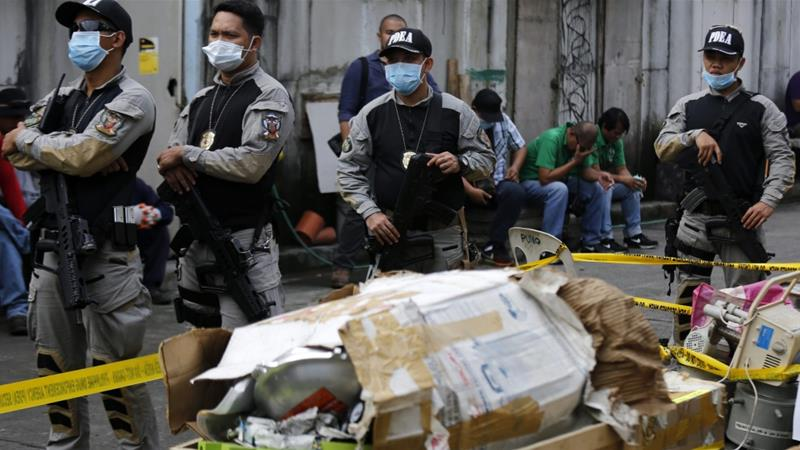 Mexican mayor and wife killed in drug raid