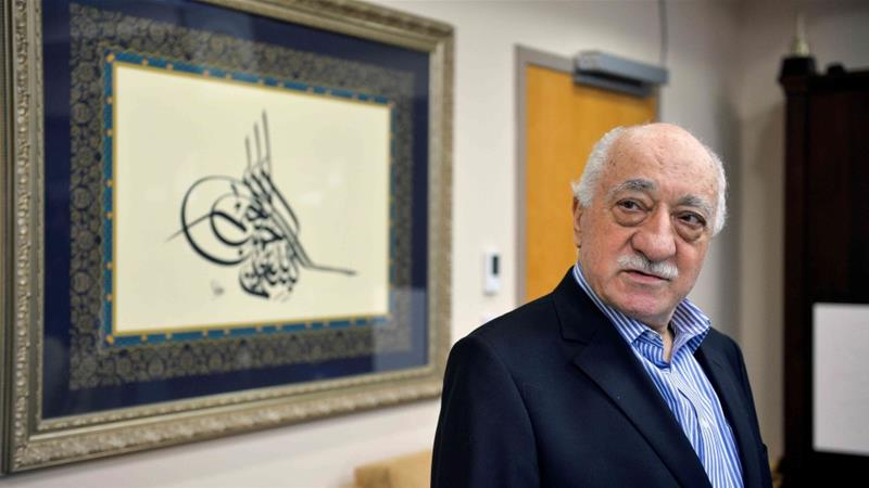 Turkey says Trump working on extraditing wanted preacher Gulen