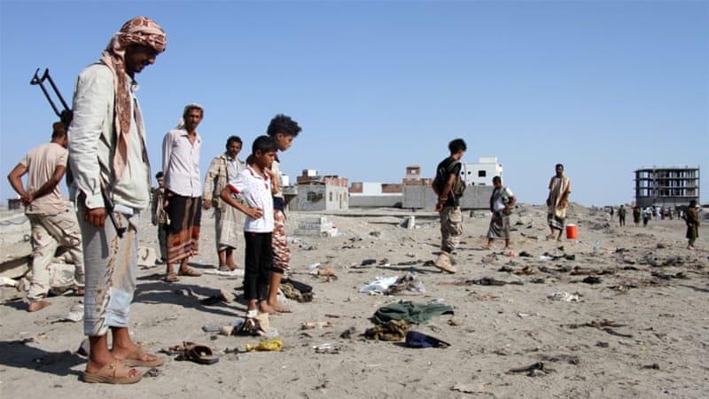 isil claims killings of 49 soldiers in yemen s aden news al jazeera