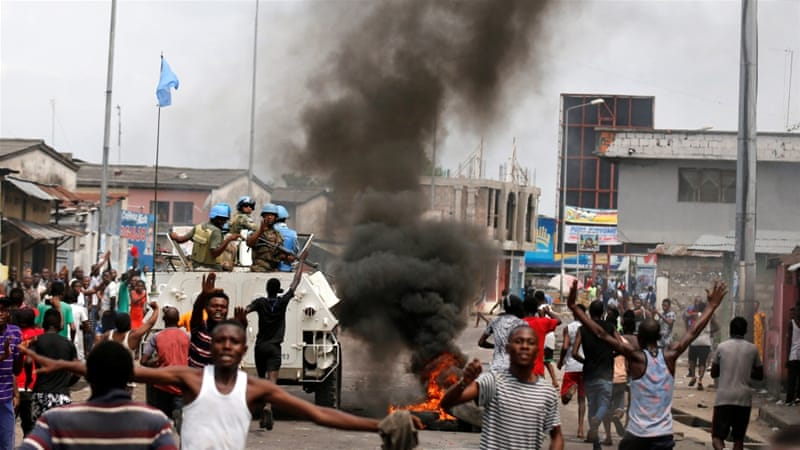 At Least 40 Killed in DR Congo Anti-Kabila Protests