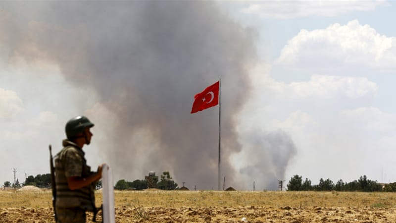 ISIL video shows 'Turkish soldiers burned alive' | ISIS News | Al