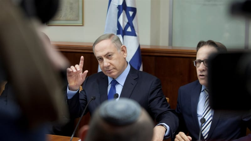 Netanyahu blasts U.S., says