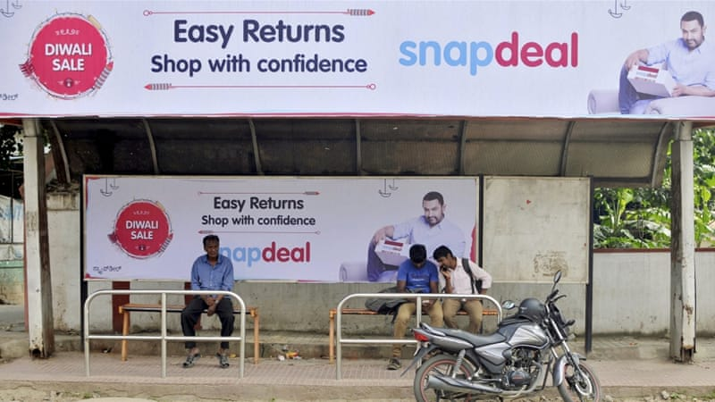 Khan was apparently dropped as brand ambassador of Snapdeal after the BJP campaign [Reuters]