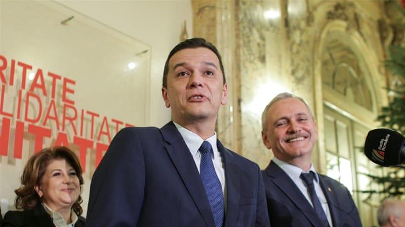 Sorin Grindeanu named new prime minister | Romania News | Al Jazeera