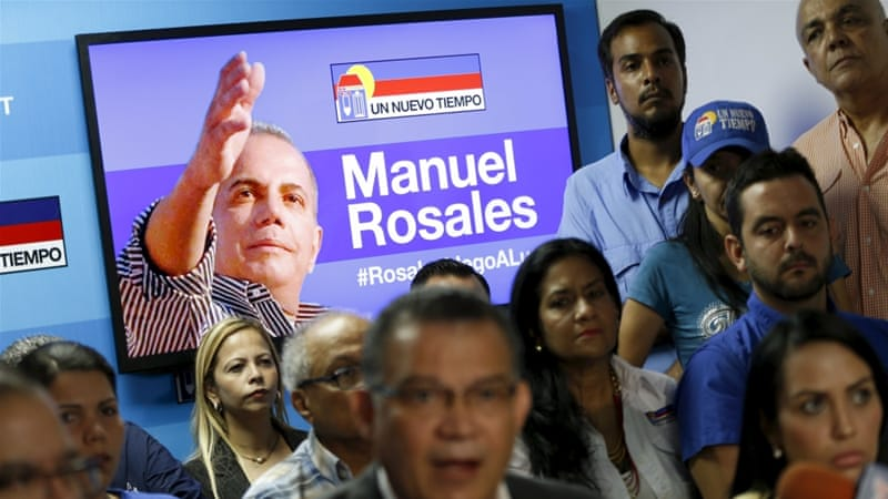 Rosales remains under house arrest and the five others released still face charges [Reuters]