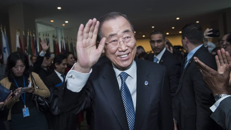 Ban Ki-moon rules out run for South Korea presidency