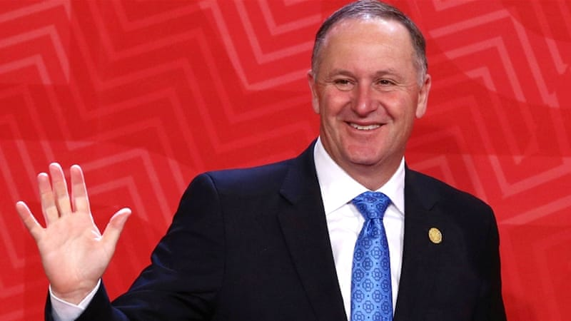New Zealand PM John Key unexpectedly steps down