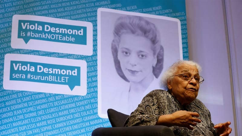 Desmond's sister, Wanda Robson, was present at the announcement on Thursday [Reuters]