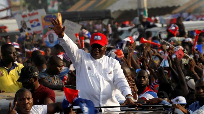 Ghana ruling party nominates President Akufo-Addo for re-election
