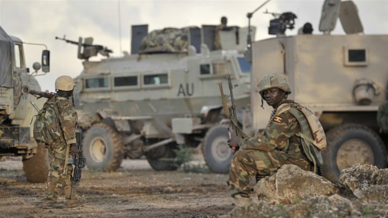 The African Union said the uniforms were taken from its army camps [File: AP]