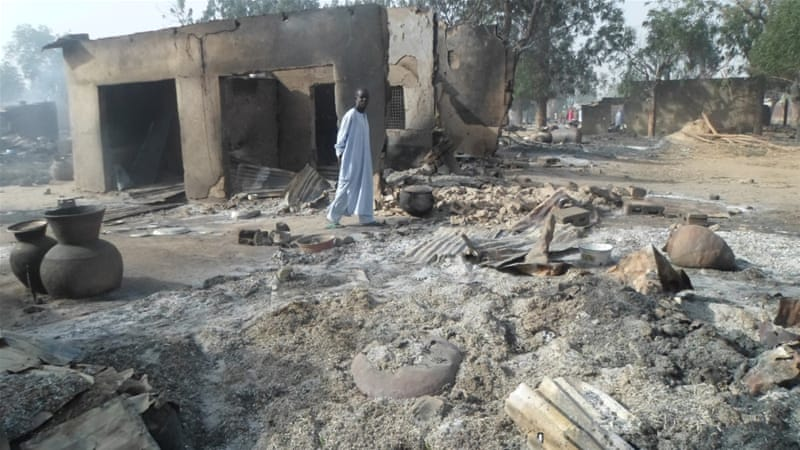 Boko Haram's attacks in northern Nigeria have killed at least 20,000 people and displaced 2.5 million [Jossy Ola/AP]