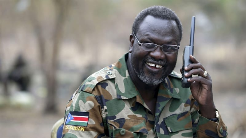 Machar (pictured) had been Kiir's deputy until July 2013, when his sacking triggered a political crisis that later boiled over [Reuters]