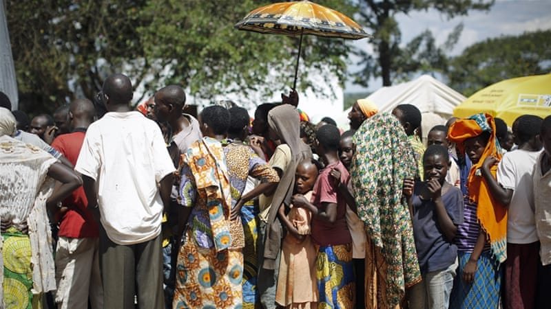 Hundreds of people have been killed and at least 230,000 have fled Burundi since violence broke out in April 2015 [EPA]