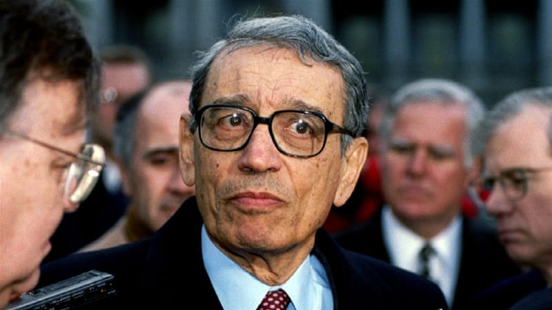 Boutros-Ghali led the UN in the period of genocide in Rwanda, civil war in Angola, and the disintegration of Yugoslavia [Reuters]