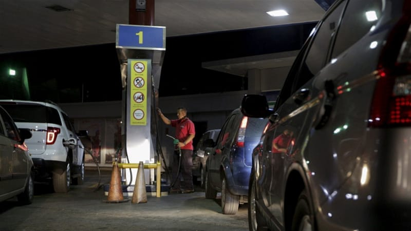 The first fuel price hike in nearly 20 years will increase the cost of petrol by at least 1,329 percent [Marco Bello/Reuters]