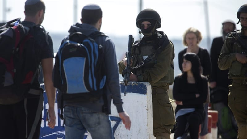 Israel has beefed up security in the area due to the unrest [Jim Hollander/EPA]