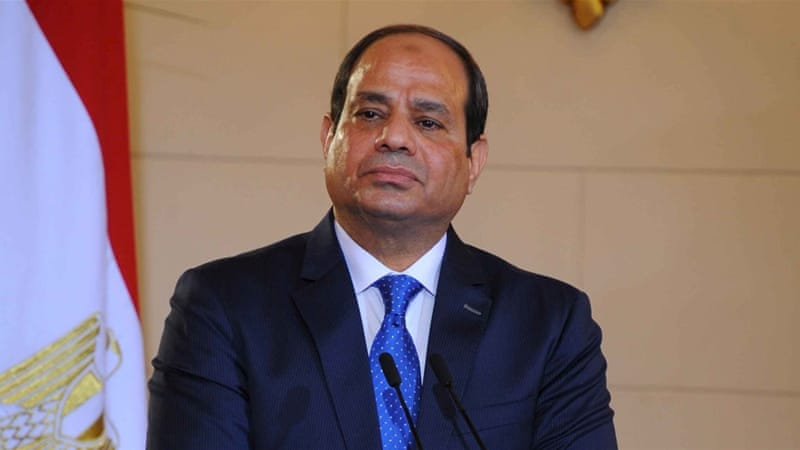 As military chief, Sisi led the July 2013 overthrow of Mohammed Morsi, Egypt's first freely elected president [Reuters]