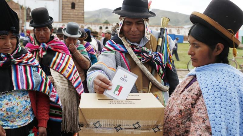 Bolivia's Morales set to lose referendum on fourth term