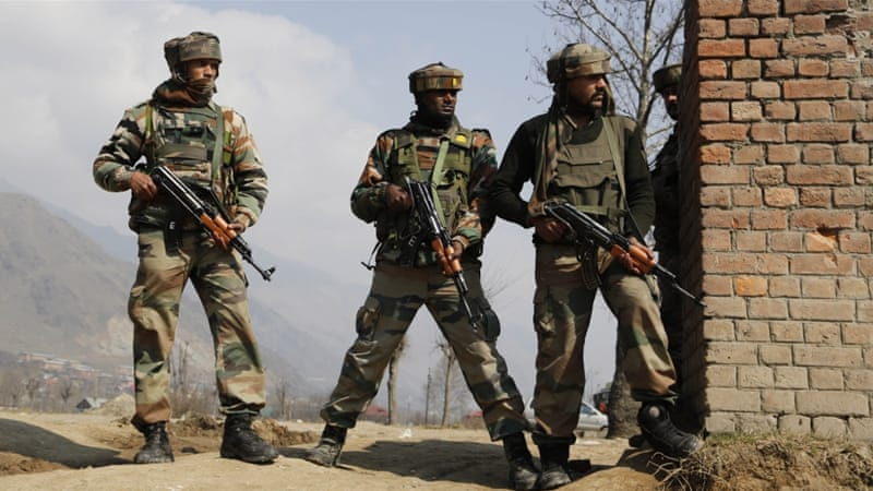 Indian media citing the army said the fighters were foreigners [AP/Mukhtar Khan]