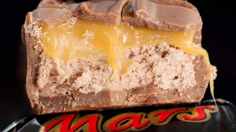 mars and snickers bars recalled in 56 countries news al jazeera