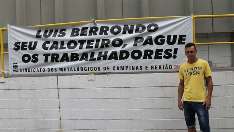 Brazil: Laid-off workers occupy factories, demand pay | Latin