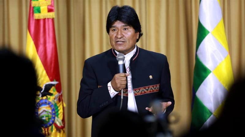 Morales helped lift millions out of poverty by more equitably distributing natural gas revenues [EPA]