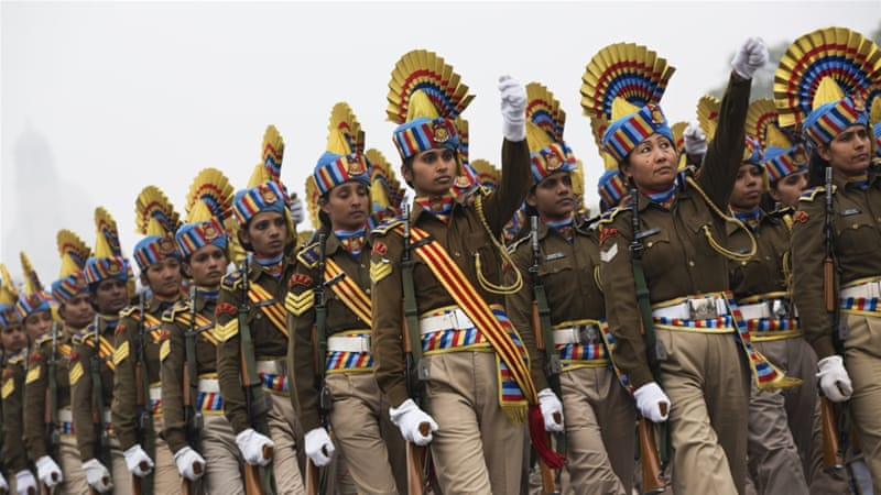 Indian women will be allowed to participate in combat roles in the country's armed forces [Bernat Armangue/AP]