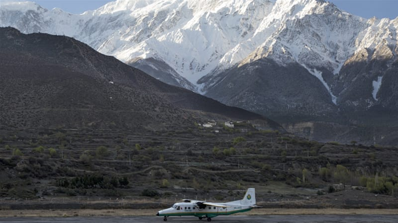The Tara Air plane was carrying 23 people, including one Chinese and one Kuwait national [File: Narendra Shrestha/EPA]