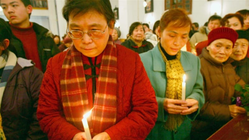 China jails Christian pastor and wife amid crackdown