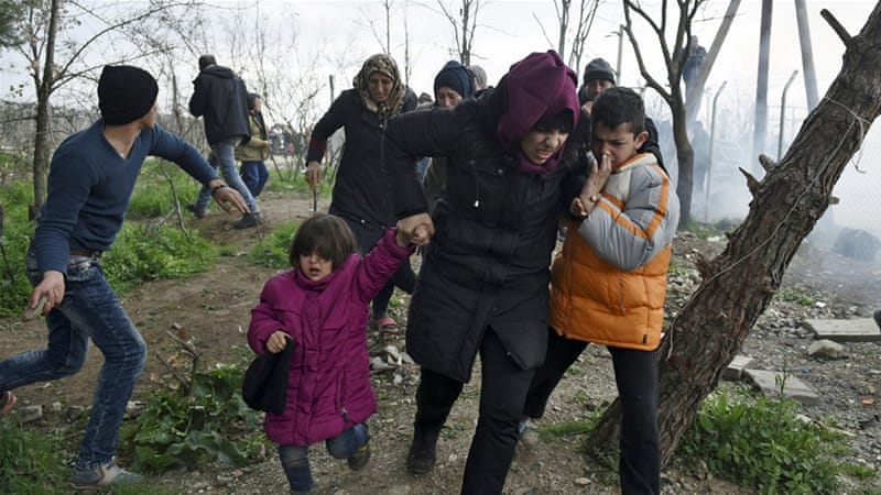 The RRDP report said that women face particular dangers as refugees [AP Photo/Giannis Papanikos]
