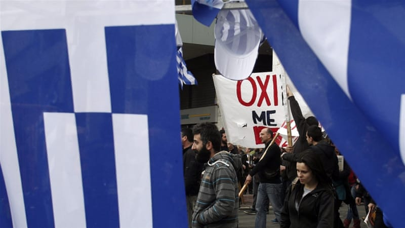 Unions are angry at pension-policy changes that are part of Greece's third international bailout [EPA]