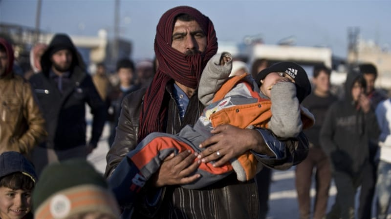 According to the UNHCR, there are roughly 2.7 million Syrian refugees in Turkey [AP]