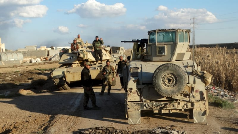Iraq announced in December that its troops had recaptured Ramadi, but daily fighting with ISIL has continued [Reuters]