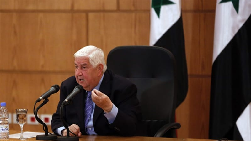FM Muallem says government delegation to talks due to start Monday will wait no more than 24 hours for opposition [EPA]
